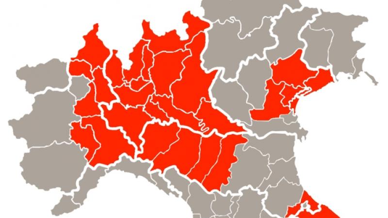 Il Dpcm 8 marzo 2020 vieta ingresso e uscita dalle province del Nord Italia