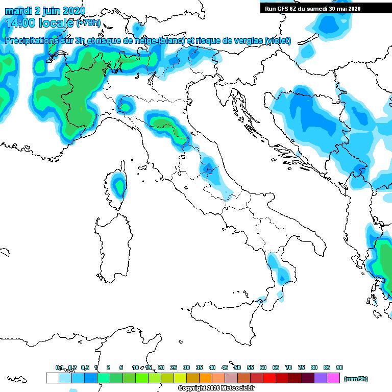 Previsioni meteo in Abruzzo dal 31 Maggio al 6 Giugno 2020