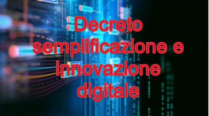 Pubblicate le misure per la semplificazione e l'innovazione digitale - D.L. n. 76/2020