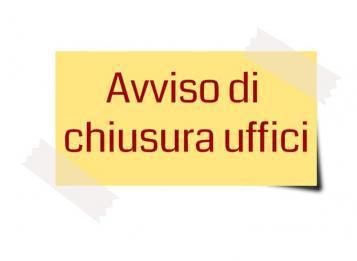 Castel Castagna - Chiusura uffici comunali